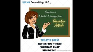 December Article Mann Success